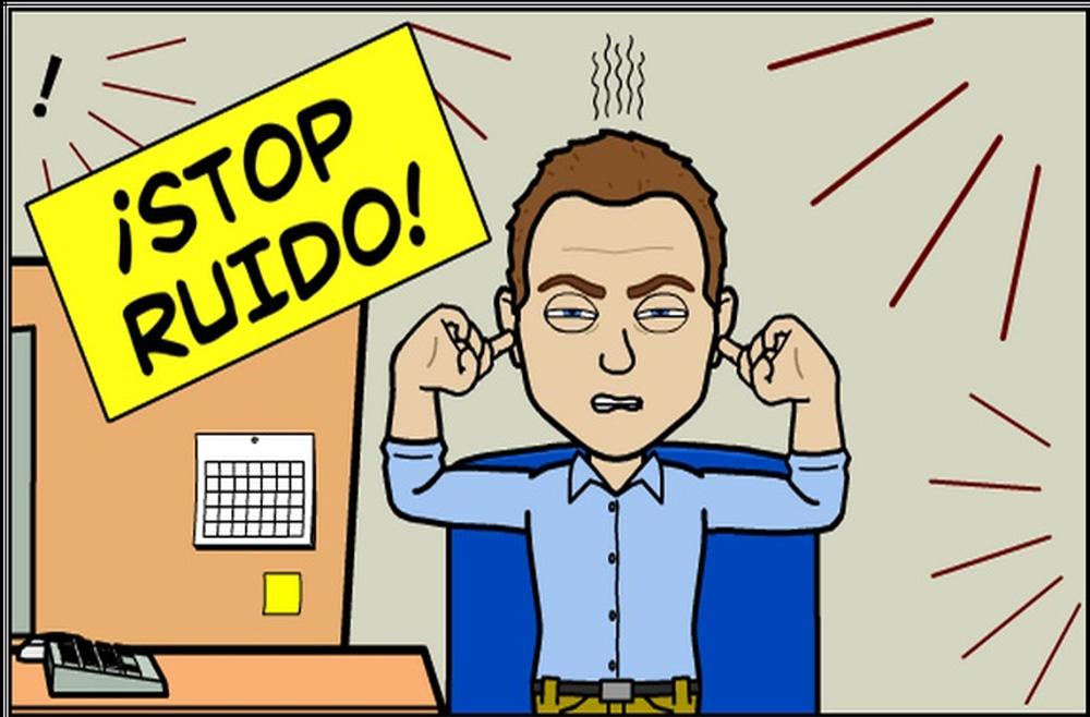 El ruido efectos causas e insonorizaci n european for Ruido oficina