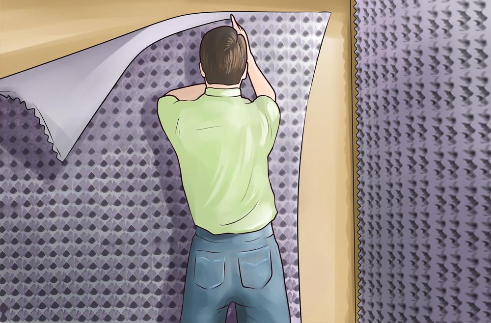 Insonorizar pared insonorizaciones european ac stica - Aislantes acusticos para paredes ...
